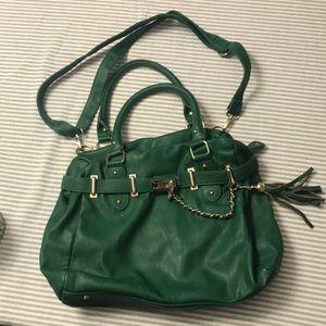 Green Steve Madden purse